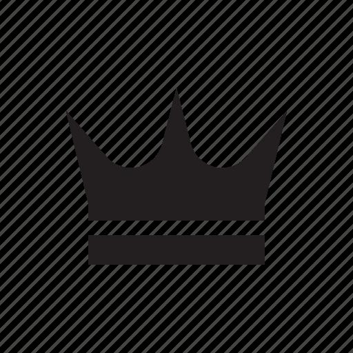 crown, media, player, premium, tranding, video, vip icon