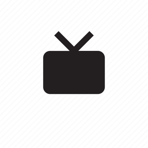 connect, media, network, player, television, tv, video icon