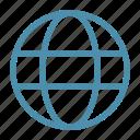 earth, globe, internet, online, travel, web, world icon