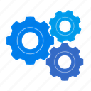 cogwheel, configuration, control, equipment, gears, options, preferences, process, setting, settings, system, tool, tools, upload, work icon