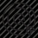 target, arrow, direction, navigation, goal, point, pin