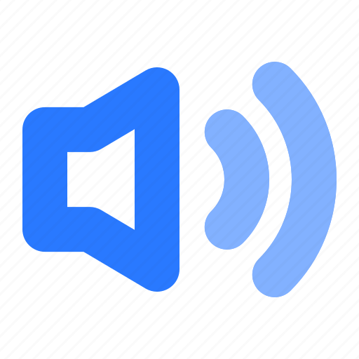 audio, music, sound, speaker, ui, volume icon