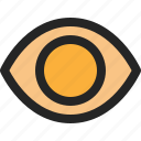 eye, view, sight, see, show, watch, visibility