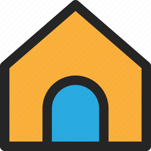 House, home, resident, building, real, estate icon - Download on Iconfinder