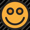 smile, face, emoticon, happy, emoji, expression, feedback