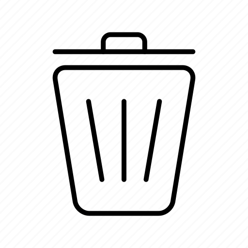 Trash, bin, delete, garbage, recycle, remove icon - Download on Iconfinder