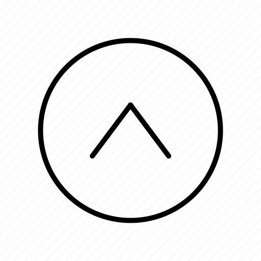 Up, upload, arrow icon