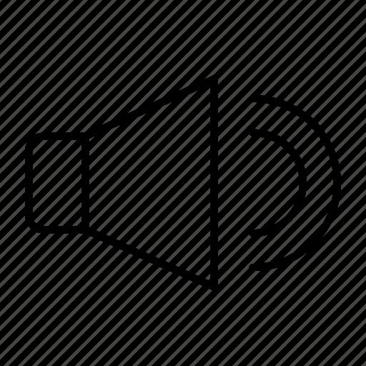 Volume, audio, speaker icon - Download on Iconfinder
