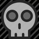 skull, dead, death, ghost, skeleton, bone