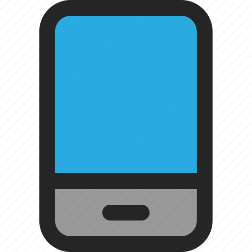Smartphone, cellphone, mobile, phone, device, touchscreen icon - Download on Iconfinder