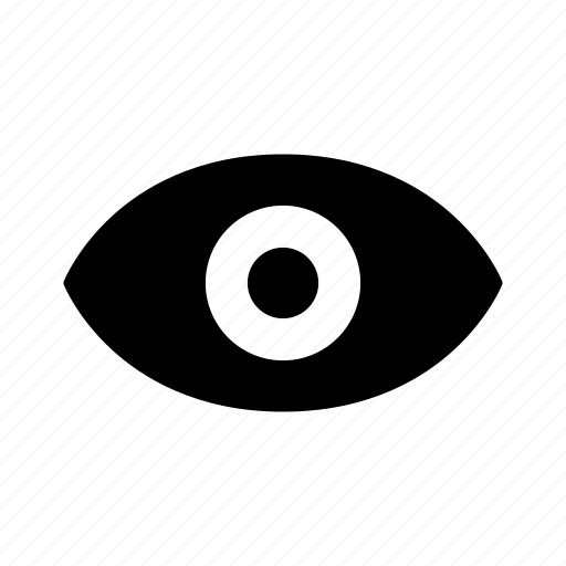 eye, look, view, vision icon