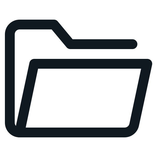 archive, archives, document, folder, open icon