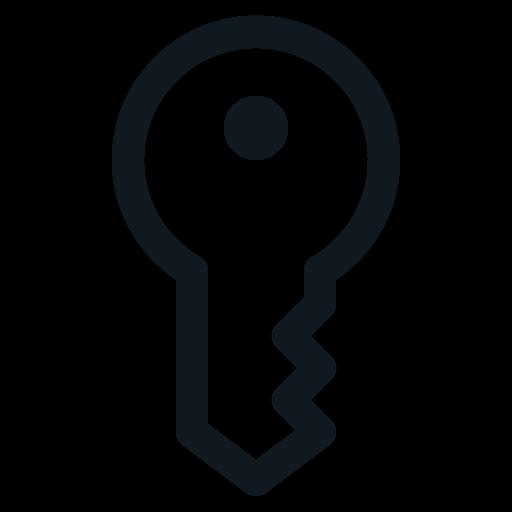 key, keys, main, password, privilege icon