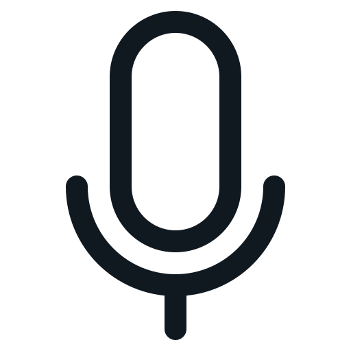 mic, microphone, recorder, speak, voice icon