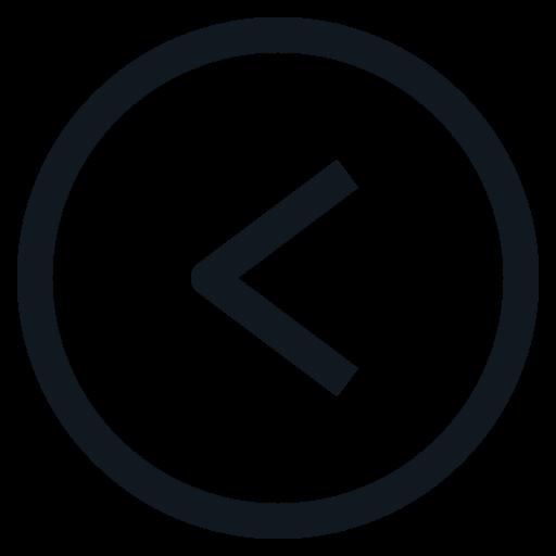 back, backward, left, mark, sign icon