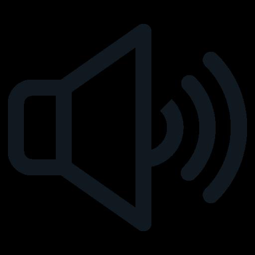 high, sound, speaker, voice, volume icon