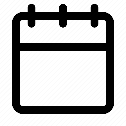 agenda, calender, date, task, ui icon