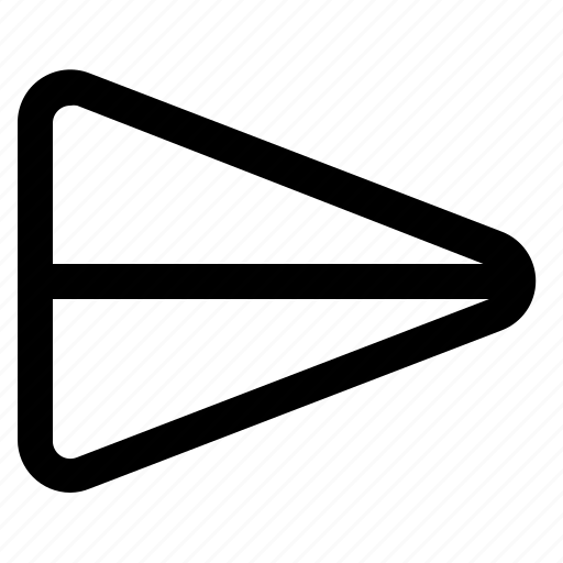 chat, plane, send, ui icon