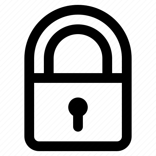 lock, protection, security, ui icon