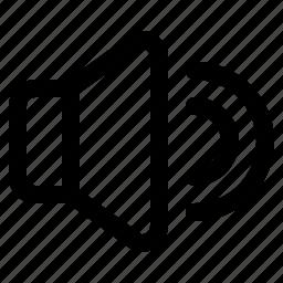 loud, speaker, ui, voice, volume icon