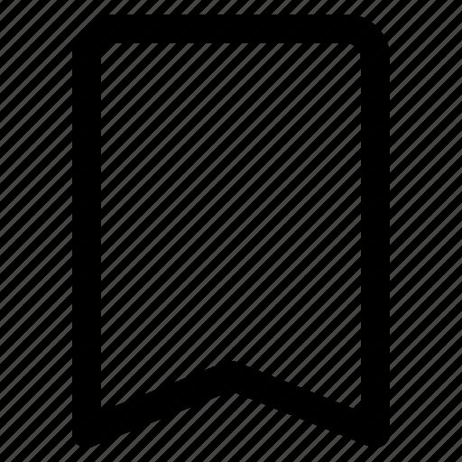 bookmark, marking, save, ui icon