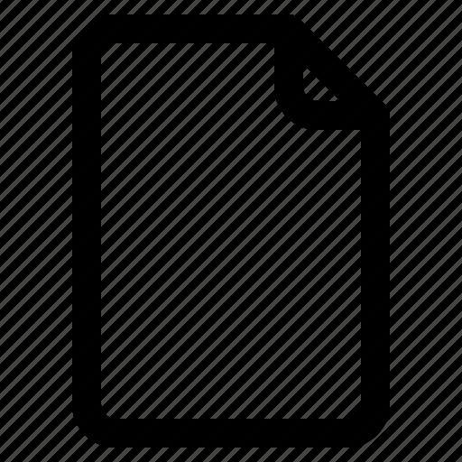 document, file, paper, ui icon