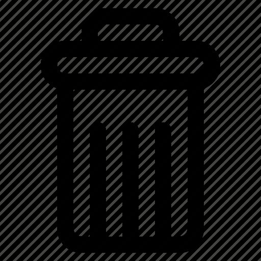 delete, spam, trash, ui icon