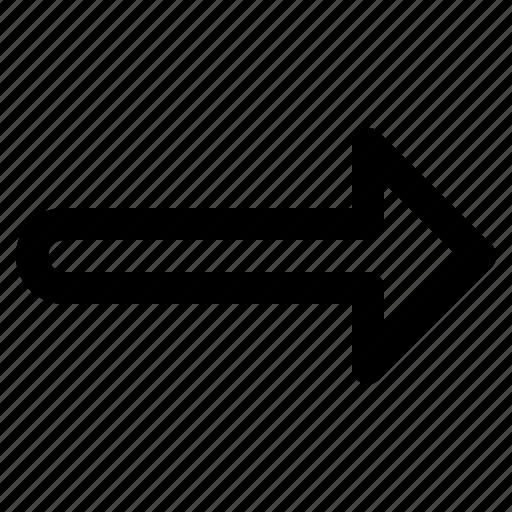 arrow, next, right, ui icon