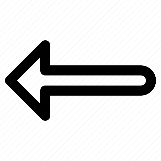 arrow, back, left, ui icon