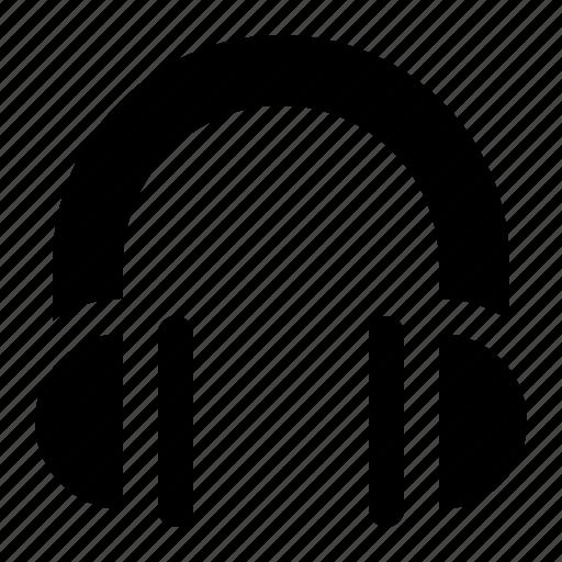 headphone, listening, sound, ui icon