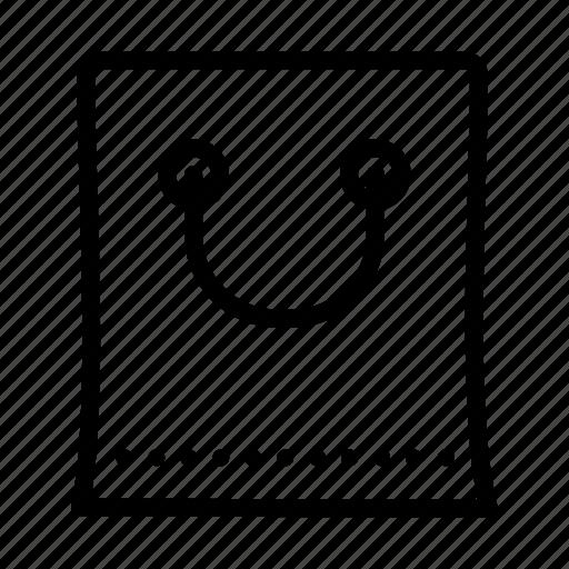 bag, basic, shop icon