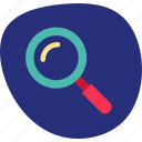 find, magnifier, search, web, zoom icon