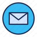 email, mail, message, ui