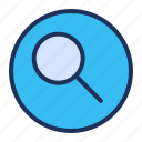 search, magnifier, ui, find