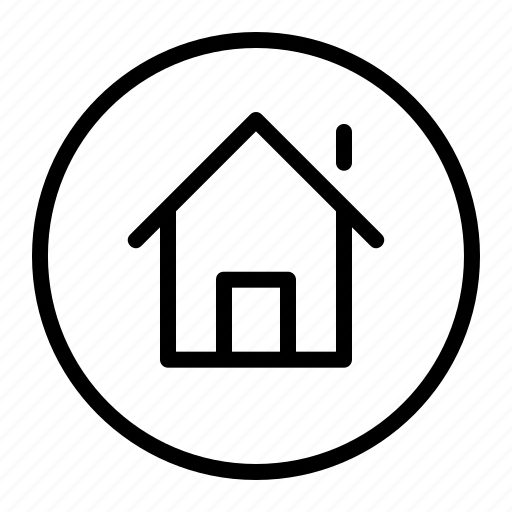 home, house, property, ui icon
