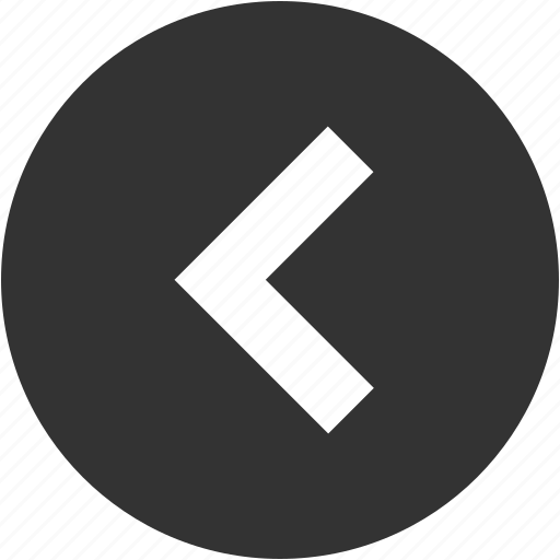 arrow, back, circle, direction, left, previous, return icon