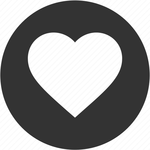 bookmark, circle, favorite, health, heart, like, love icon