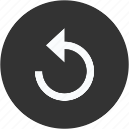 again, circle, refresh, reload, update icon
