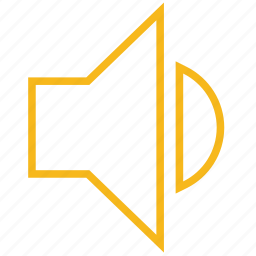 low, medium, music, sound, speaker, volume icon
