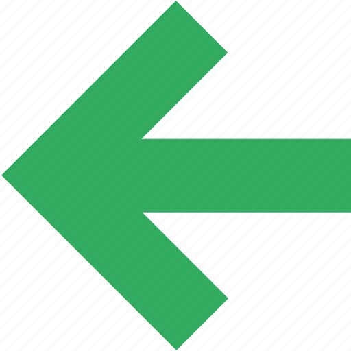 arrow, back, direction, east, left, previous, return icon