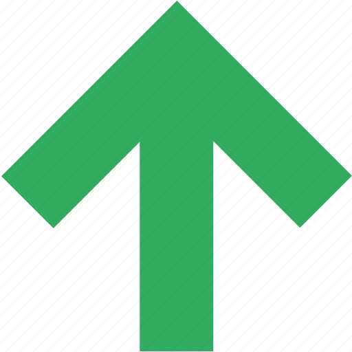arrow, direction, pointer, top, up, upload, upward icon