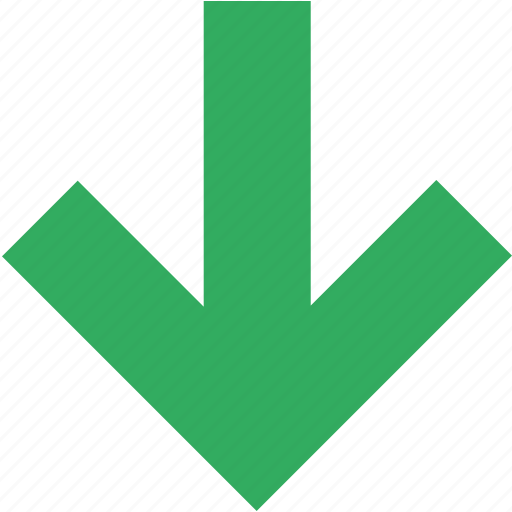arrow, direction, down, download, downward, save icon