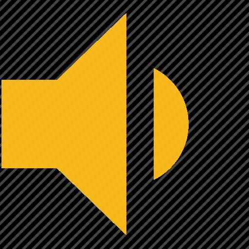 audio, medium volume, music, normal volume, sound, speaker, volume icon