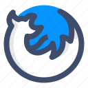 browser, firefox, mozilla, web browser icon