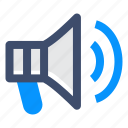ad, ads, advertisement, speaker icon
