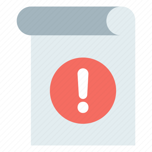 Notice, penalty notice, warning, warning notice icon - Download on Iconfinder