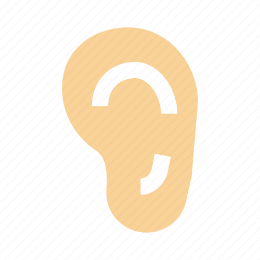 Ear, hear, hearing, listen icon - Download on Iconfinder