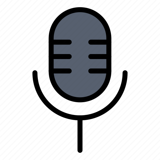 mic, microphone, show, sound icon