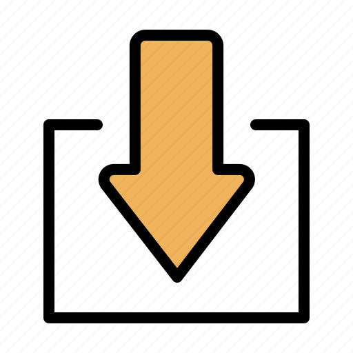 Arrow, down, download icon - Download on Iconfinder