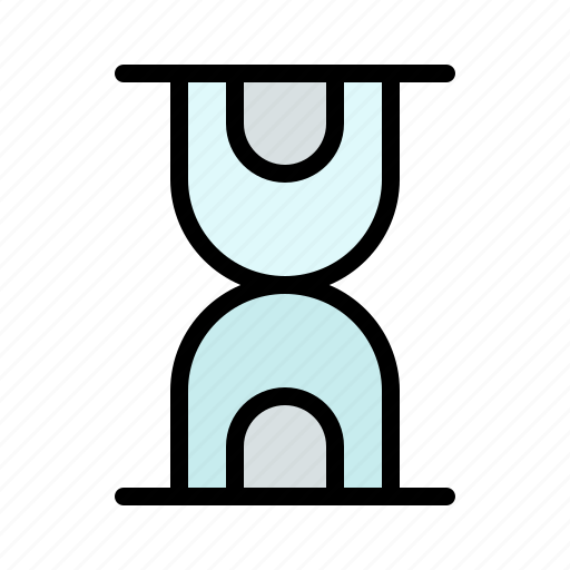 glass, hour, loading icon